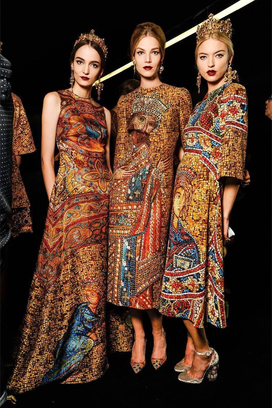 Дольче и габбана платья коллекция
