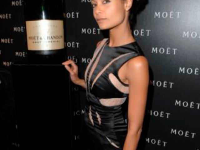 Thandie Newton at MOËT & CHANDON