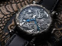 A watchmaker and three engravers create a one-off horological masterpiece featuring dragon motifs inspired by the Kennin-ji Temple in Japan
