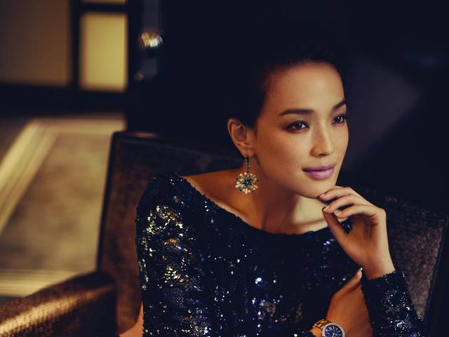 The Chinese actress unveiled as the new China brand ambassador for the Italian jeweller and fronts the print and video campaign for its new watch collection