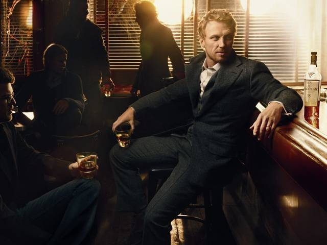Leibovitz brings to life the essence of Macallan through her unique storytelling ability with the help of Kevin McKidd