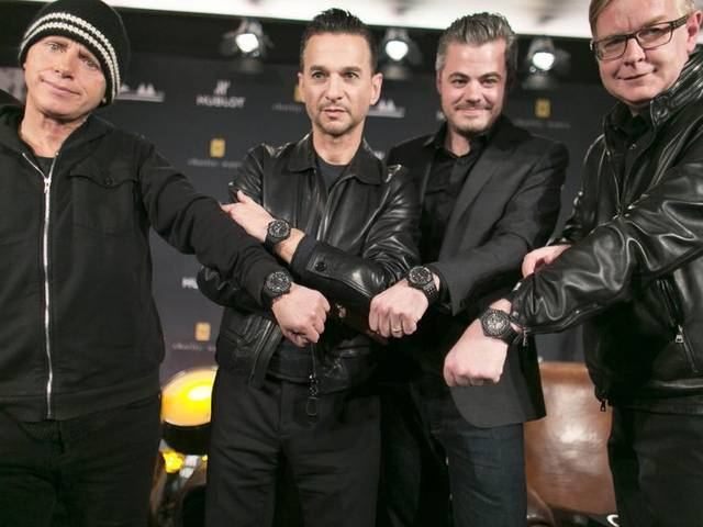 Depeche Mode and Hublot have come together in a fundraising initiative to benefit charity: water, a non-profit bringing safe drinking water to the developing world