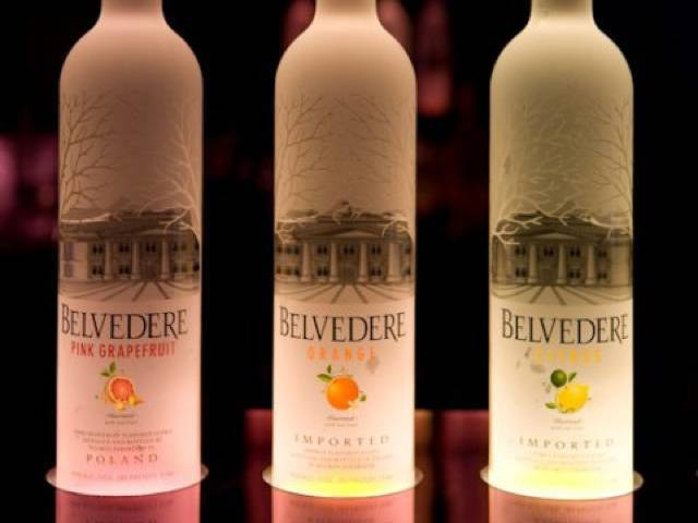 Belvedere Pink Grapefruit adds to the Citrus, Orange and Black Raspberry maceration collection