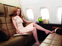 The Hollywood actress is the face for the airline's evocative new brand campaign, launched with the worldwide premiere of a new television commercial