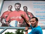 "UNICEF ambassador Ryan Giggs ""I'm so pleased that we are working with UNICEF to help put it right"""