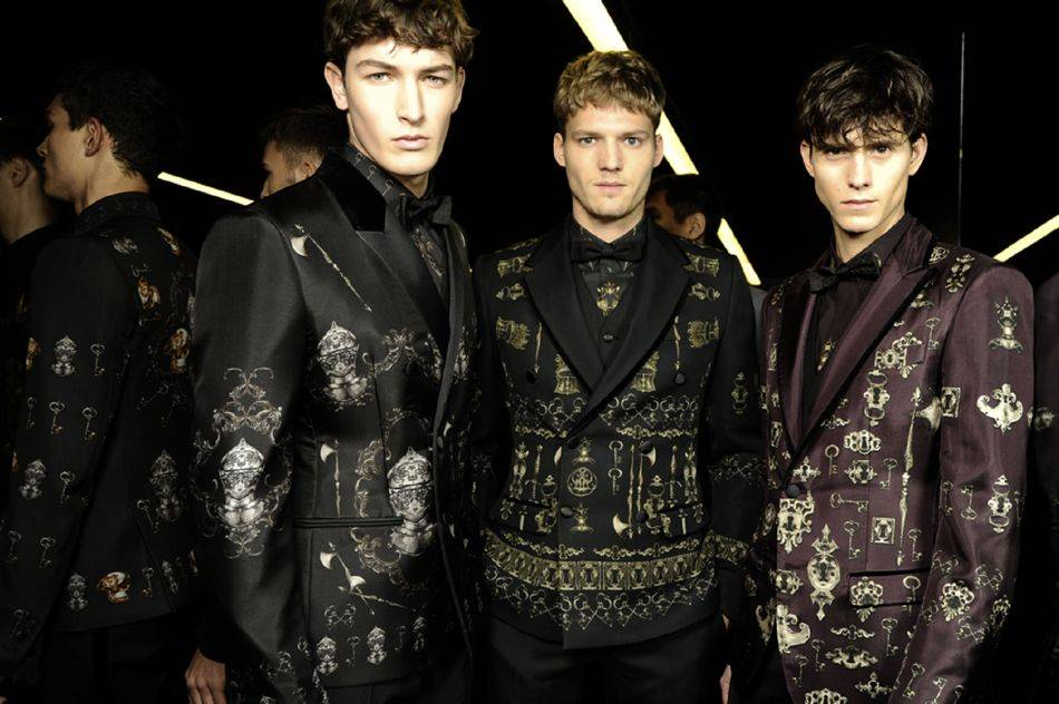 The Norman Kings, once-descendants of the great Vikings, come alive in the Italian label's menswear collection for the Fall/Winter 2014/2015 season