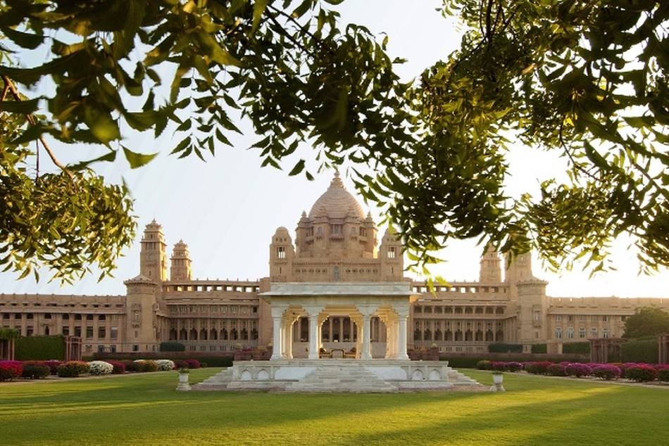 A spectacular combination of Indian architectural style and western technology