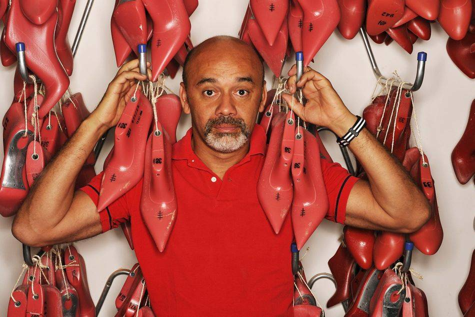 Christian Louboutin topped his 20th career anniversary with his first retrospective exhibition held at the Design Museum in London