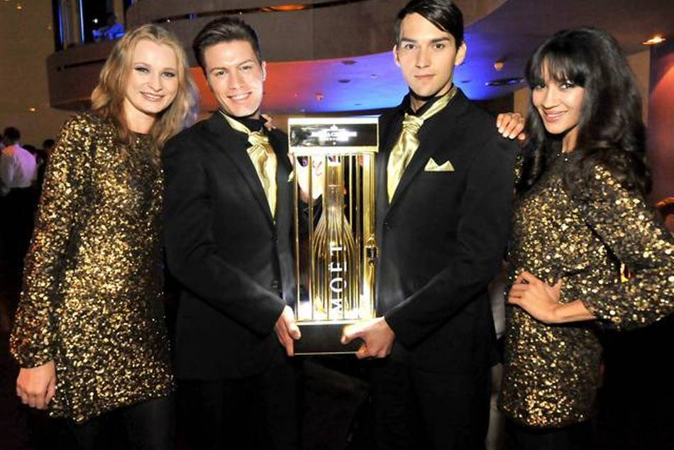 Moët Golden Nights premieres at New Asia Bar