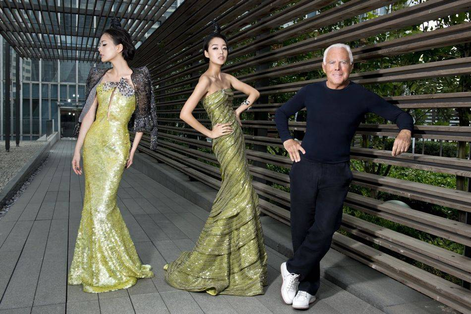 "More than 1,000 guests attended Giorgio Armani's biggest ""One Night Only in Beijing"" event which was held at the New Tank"