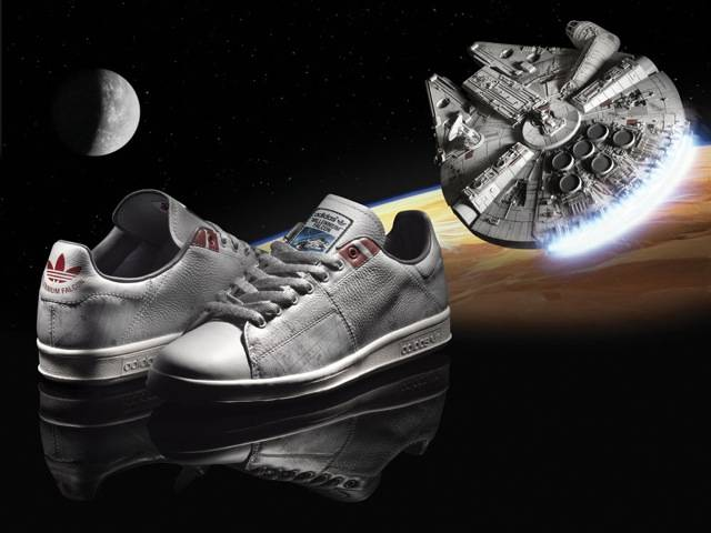The Millennium Falcon adidas original, part of the Spring/Summer Star Wars Vehicle Pack
