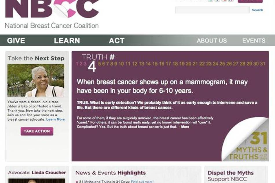 31 Breast Cancer Myths & Truths in 31 Days