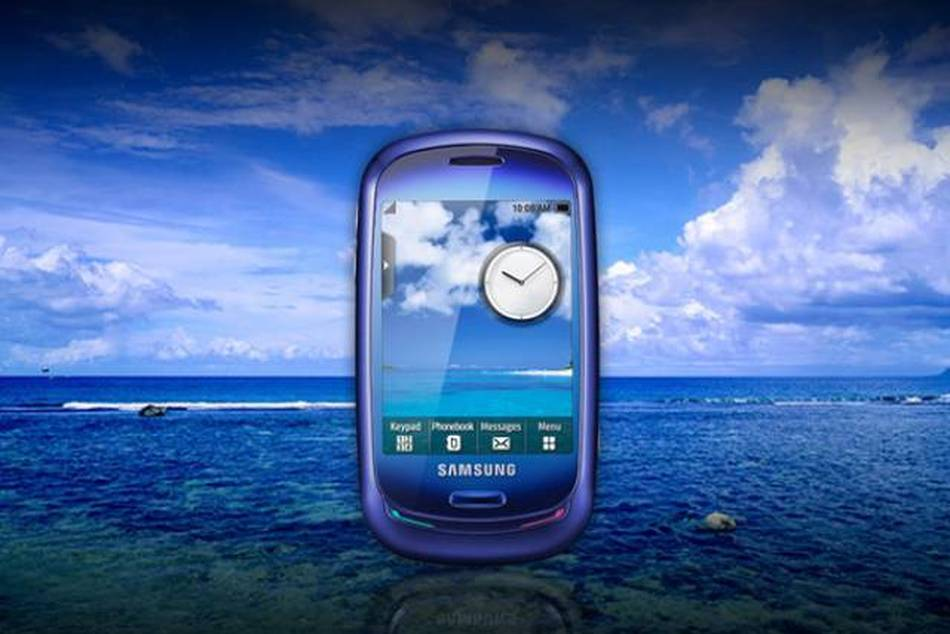 Samsung Blue Earth is powered by a solar panel charger and made from recycled plastic bottles