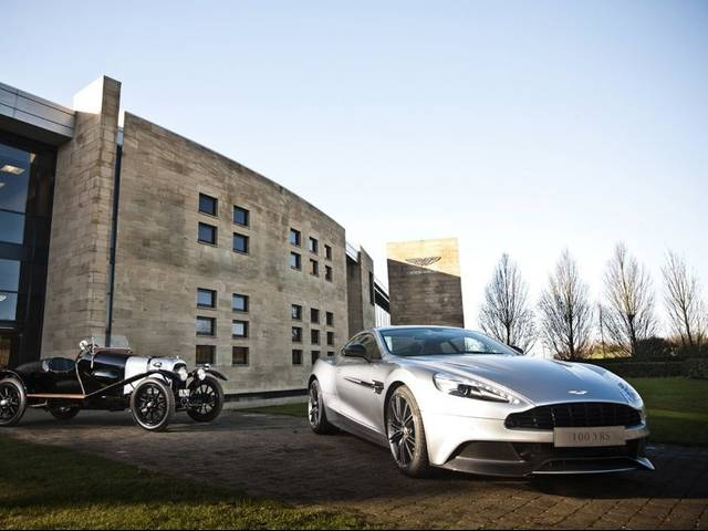 Aston Martin kicked off its year-long celebration of its 100th Anniversary with the unveiling of a bespoke new Centenary Edition Vanquish as well as a lineup of events throughout 2013