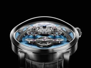 MB&F has unveiled the Legacy Machine N°2 which is so sophisticated in its machination and construction, so superlative and sublime in its historical references to watchmaking, that it is figuratively, ahead of its time