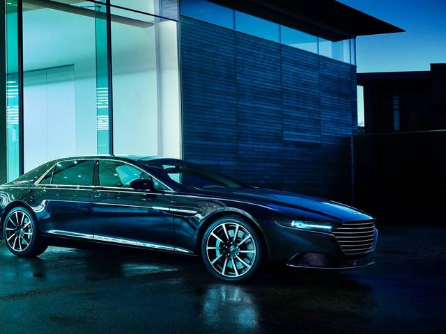 The British marque's new car draws inspiration from the William Towns-designed Lagonda of 1976 and offered exclusively in the Middle East, as a result of specific market demand