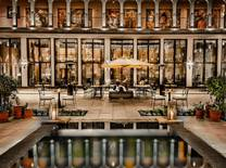 The new Marriott International hotel located at the gateway of Machu Picchu is built on grounds of a colonial monastery and exhibits ancient Inca artifacts found on the site