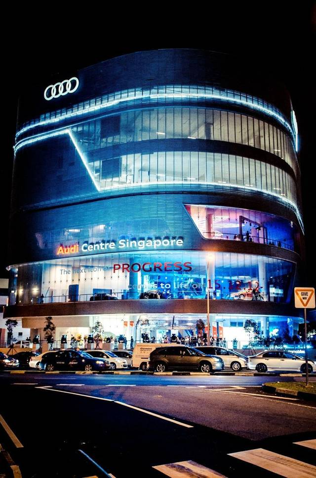 Audi Centre Singapore Opens Amidst Glamour And Fanfare Senatus