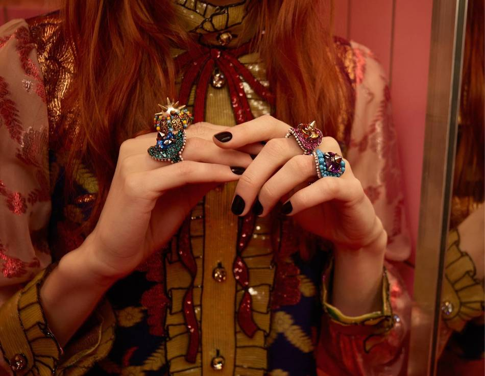 A new collection of fine watches and jewellery designed by Alessandro Michele