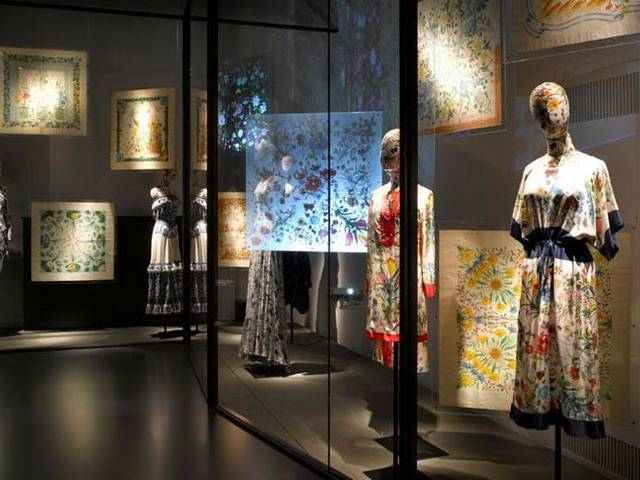 Archival pieces from Florence's Gucci Museo will be on display in celebration of the Italian House's storied Flora motif | Photos courtesy of Richard Bryant & Gucci