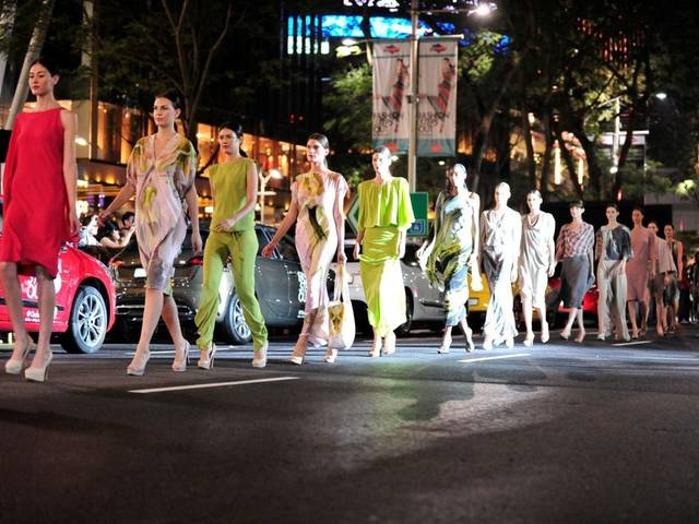 "The newly rebranded Samsung Fashion Steps Out sis a six-week fashion extravaganza held on Orchard Road that will showcase the latest Spring/Summer collections from around the globe | Photo Credit: <a href=""http://www.orchardroad.org/"">Orchard Road Business Association</a>"