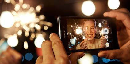 SONY's game-changing slim smartphone powered by Android combines the very best of the Japanese manufacturer's technologies and entertainment content across its design, camera, TV, music and movie divisions