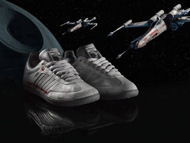 X-wing adidas original, part of the Spring/Summer Star Wars Vehicles Pack