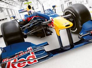 The RB5 from Red Bull has brought tremendous success to Red Bull Racing in 2009