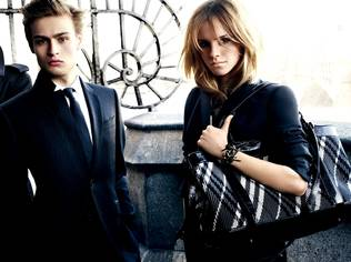 Burberry has unveiled Emma Watson as the new face of its forthcoming autumn/winter 2009/10 collection