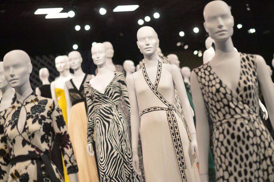The designer celebrates the 40th anniversary of her iconic wrap dress with an exhibition in Los Angeles, honouring the timeless style she introduced in the early 1970s
