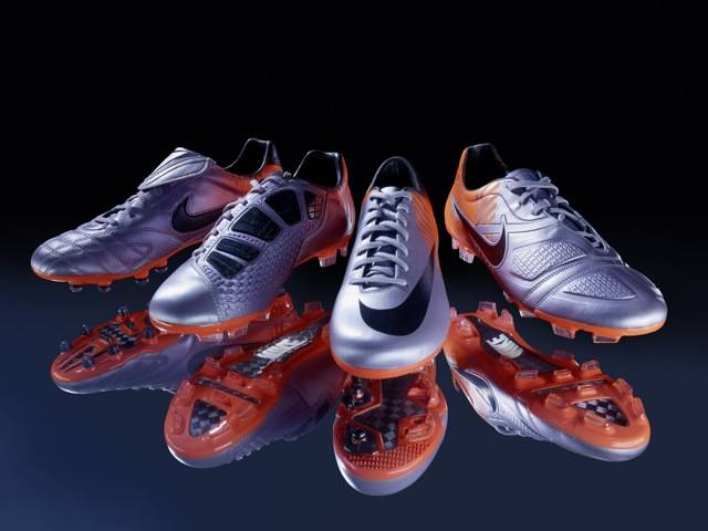 Nike designers have reduced the weight of each boot so players can perform at their best