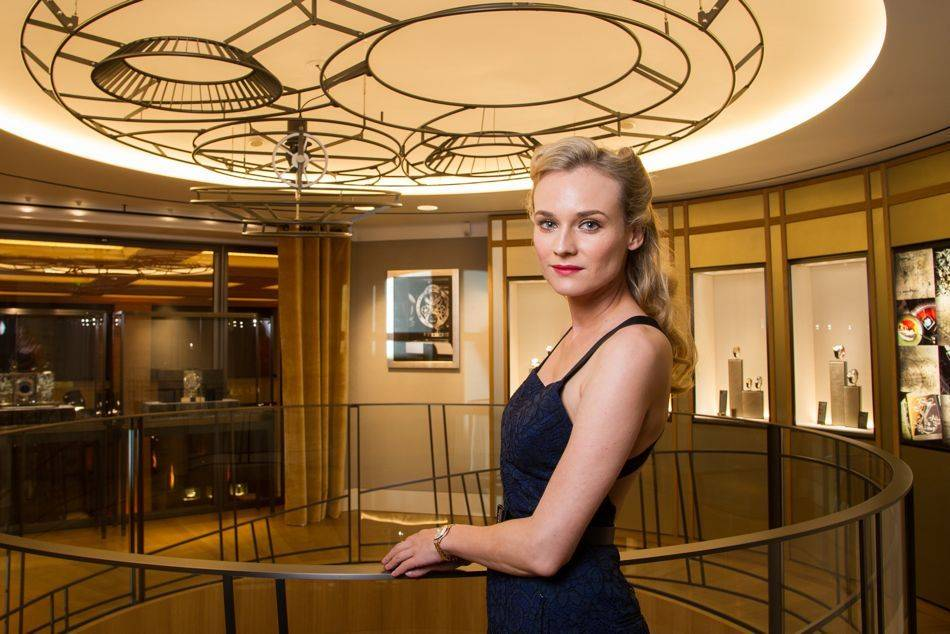 The largest Jaeger-LeCoultre boutique in the world heralds the new interior design concept where Jaeger-LeCoultre will be to convey at once its past, its present and its future.