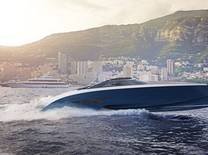 The makers of the world's fastest production super sports car and the world's largest motor yacht builder come together to produce three models from 42ft to 88ft