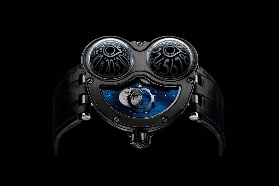 Swiss watchmaker MB&F collaborates with Stefan Sarpaneva to create a unique interpretation of the Horological Machine No3
