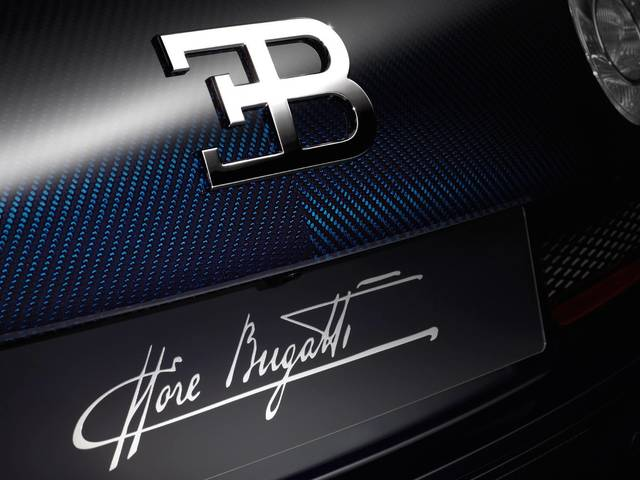 The sixth model of the limited edition series takes its inspiration from the legendary Type 41 Royale, and is dedicated to Ettore Bugatti