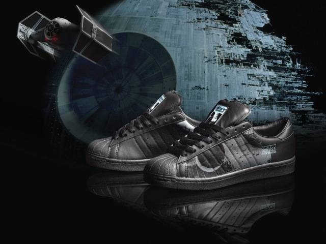 Death Star adidas original, part of the Spring/Summer Star Wars Vehicle Pack