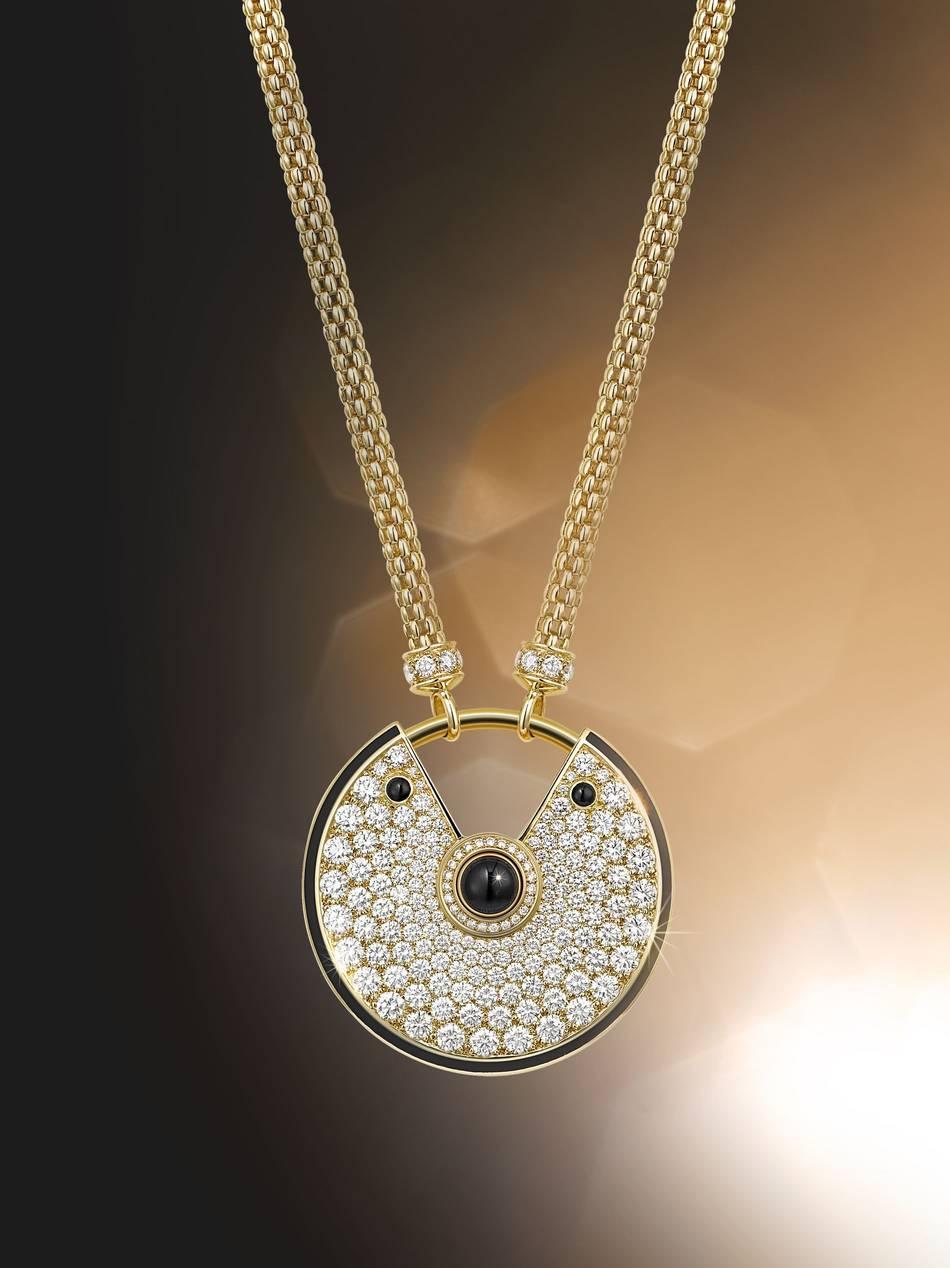 Amulet Jewelry Pendants Sothon: Cartier Launches New 'Amulette De Cartier' Collection