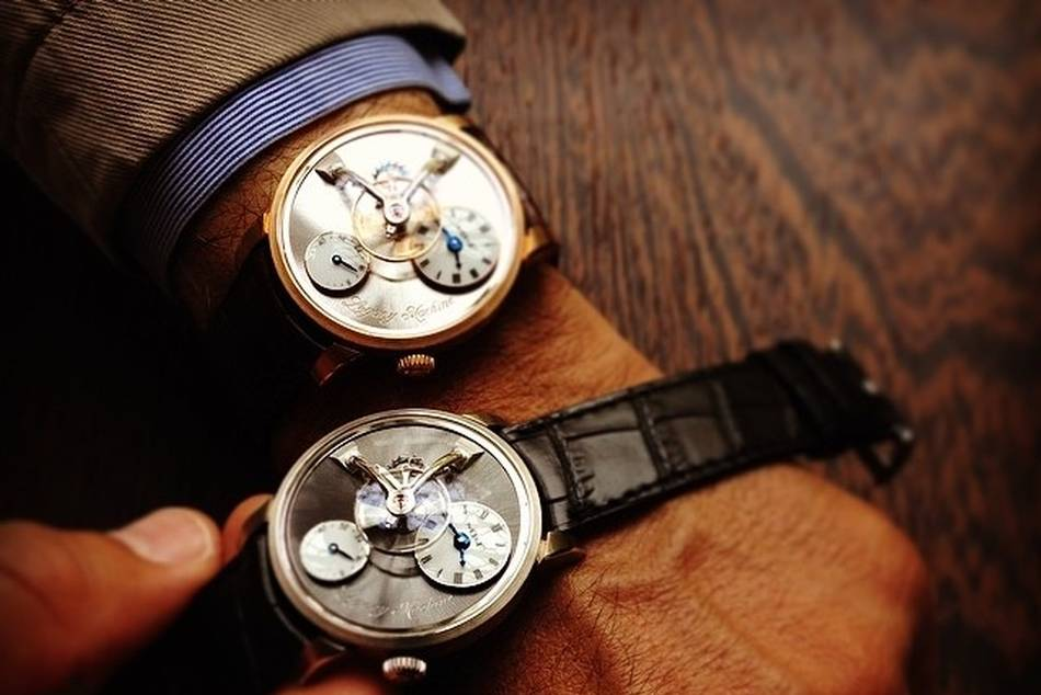 MB&F extends upon its Legacy line with the LM101, with its first movement entirely developed in-house, paying homage to the heritage and technical supremacy of pocketwatches from over a hundred years ago