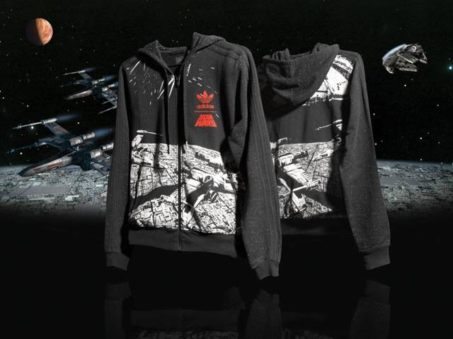 Millenium Falcon Hooded Sweat-Shirt, part of the Spring/Summer Star Wars Vehicle Pack