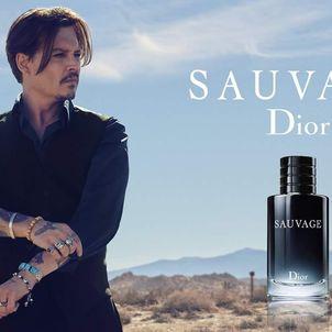 Johnny Depp For Dior Sauvage Senatus