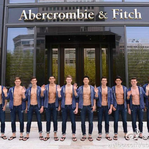 Abercrombie & Fitch Opens Shanghai Flagship Store | SENATUS