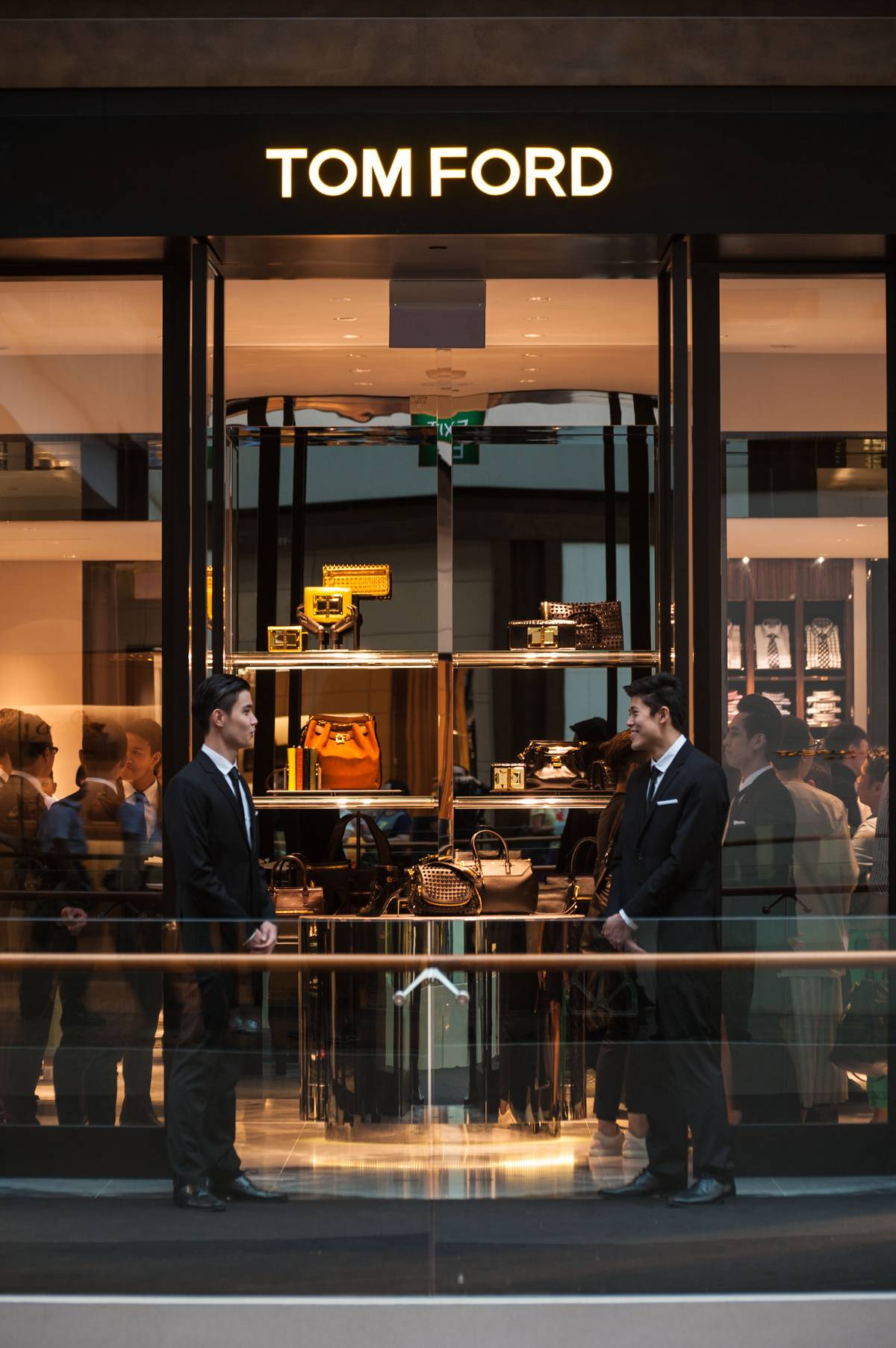 Tom Ford Opens 1st Store In South East Asia At Marina Bay Sands In Singapore Senatus