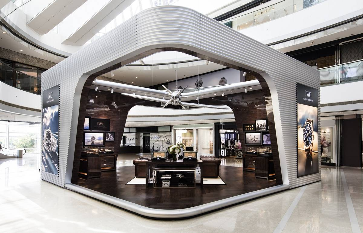 Iwc Pilot S World Exhibition At Ifc Mall In Hong Kong