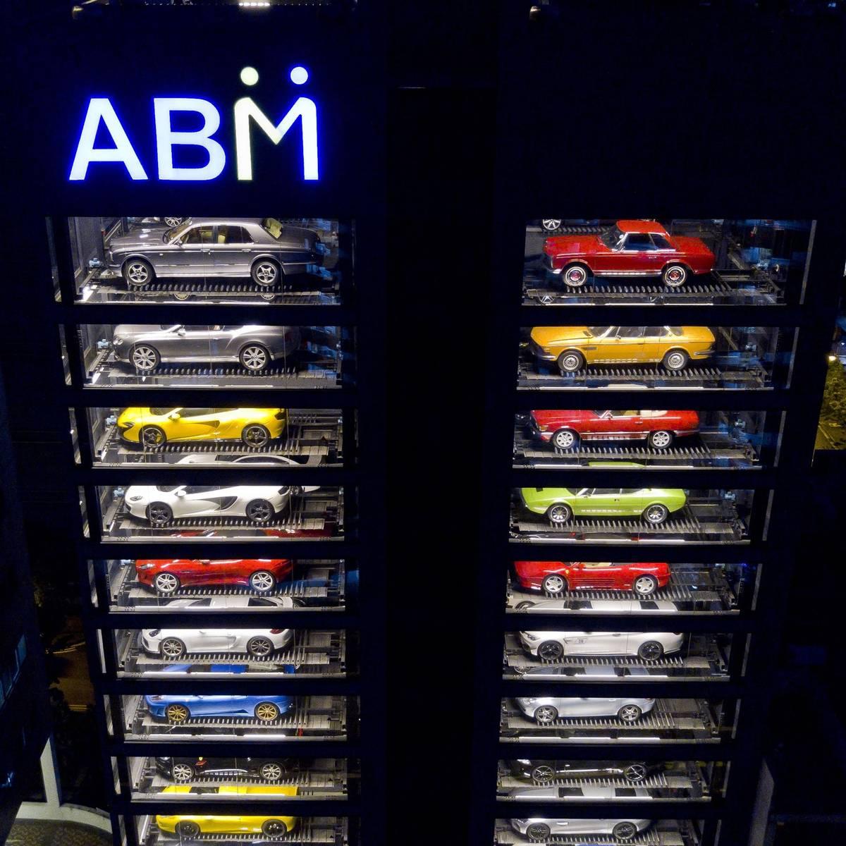 "The World's Largest Luxury Car ""Vending Machine"" | SENATUS"