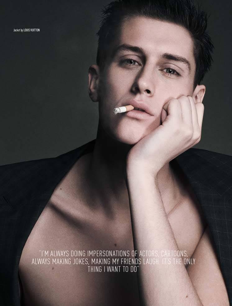Anthony Meyer Captures Actor Jean Baptiste Maunier For