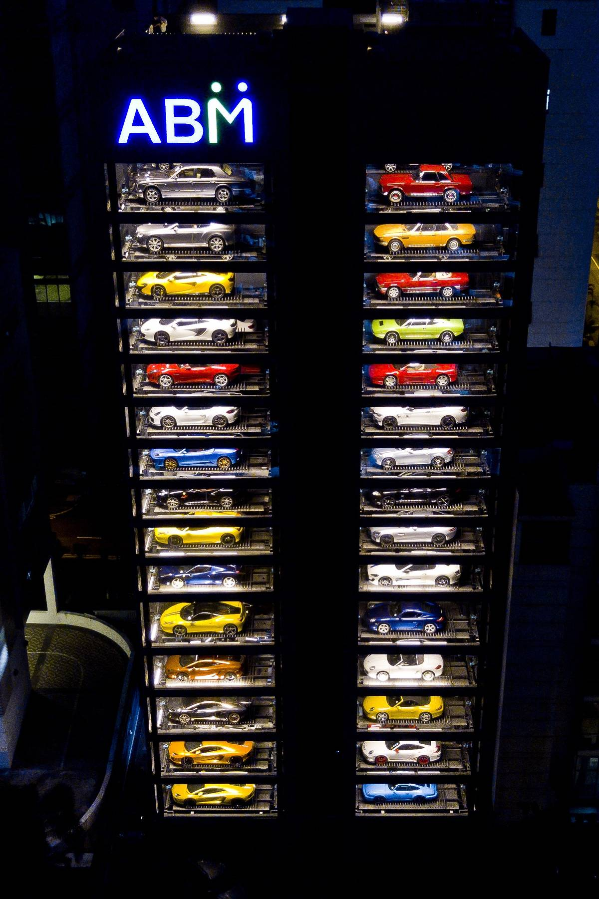 The World S Largest Luxury Car Quot Vending Machine Quot Senatus