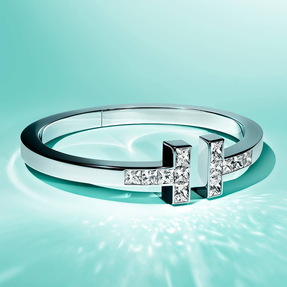 Tiffany T Square Bracelet Reimagined With Diamonds Senatus