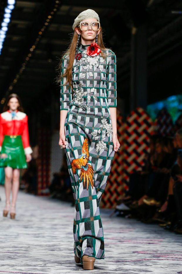 d1c5ae7bc0d Gucci Spring Summer 2016 ready-to-wear collection in Milan Fashion Week