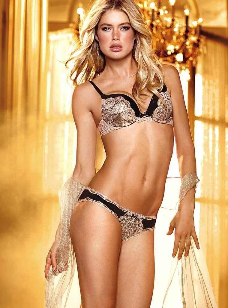 lingerie doutzen kroes victoria s secret