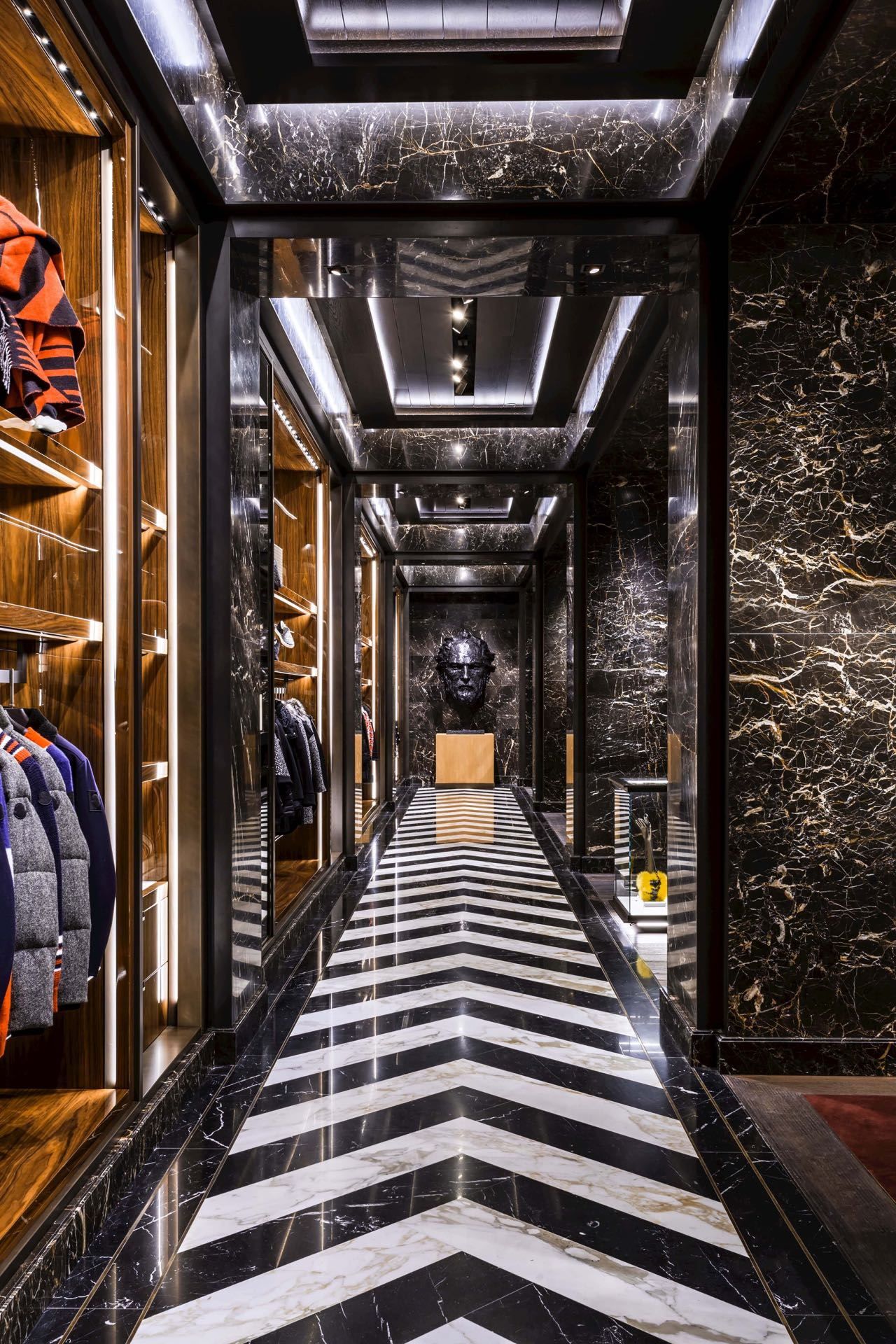 Moncler Opens American Flagship Store In New York City